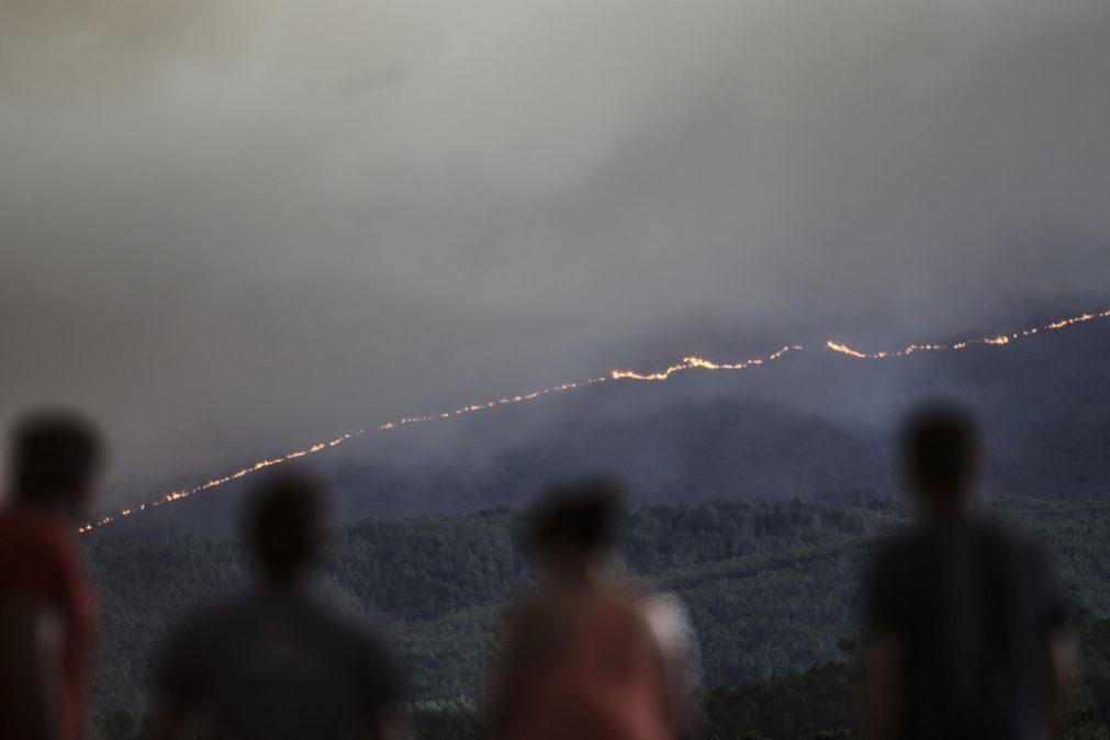 Incêndios: Nove fogos em curso mobilizam mais de 750 bombeiros e 246 viaturas