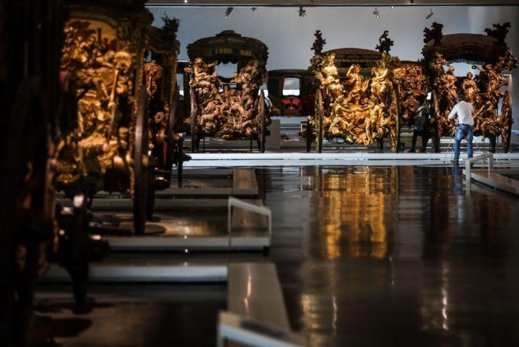 Museu dos Coches com nova museografia recebeu 10 mil visitantes em dois dias