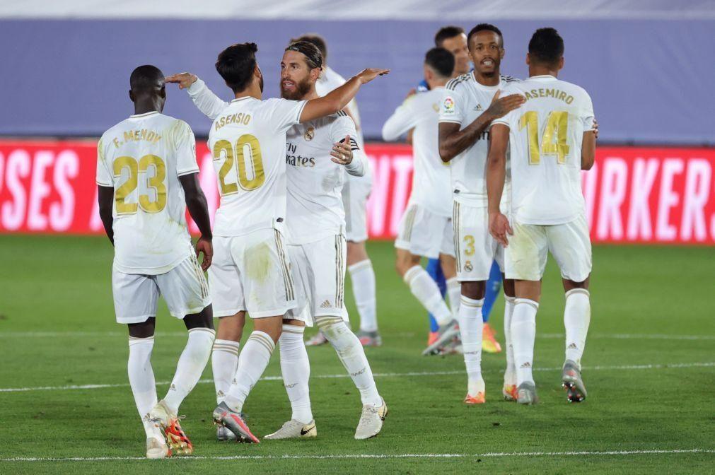 Covid-19: Real Madrid 'escapará' à quarentena quando viajar para Manchester