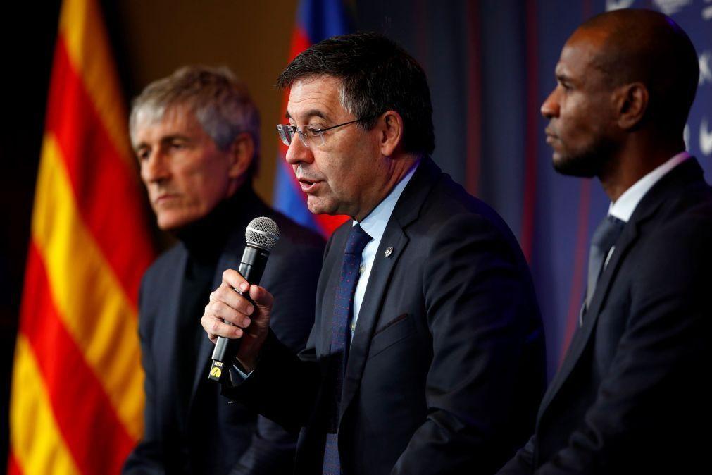 Covid-19: FC Barcelona com perdas de 200 ME devido à pandemia