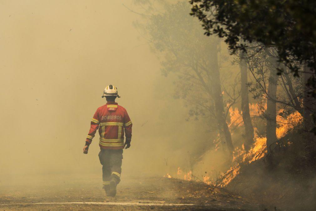 Incêndios: Comissão Europeia acompanha fogo de Oleiros e disponibiliza apoio satélite