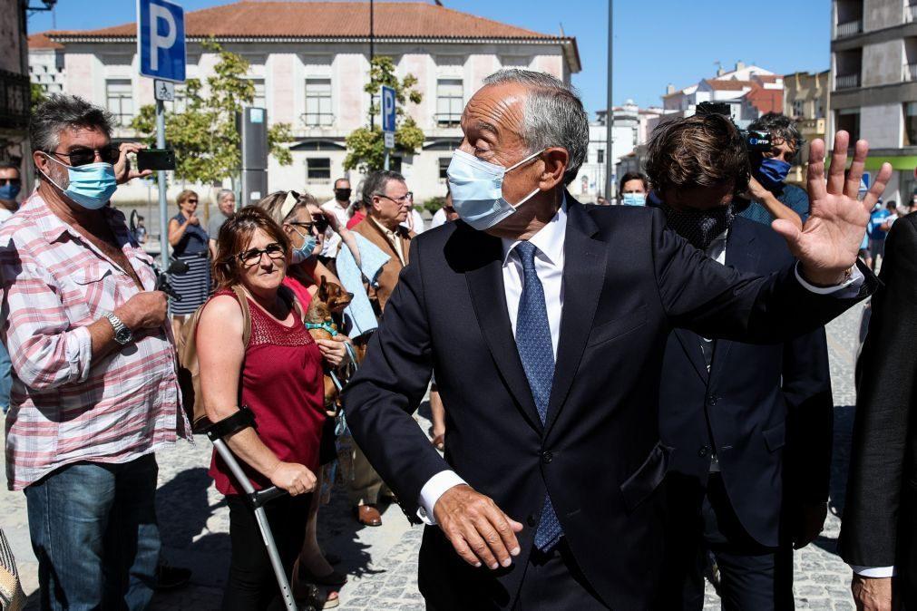 Covid-19: Marcelo admite que pandemia afetou prevenção dos incêndios