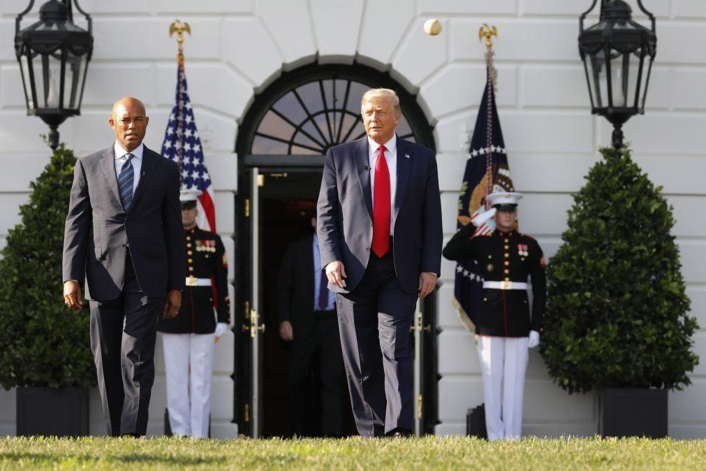 EUA/Eleições: Trump diz que vai ser reeleito graças à