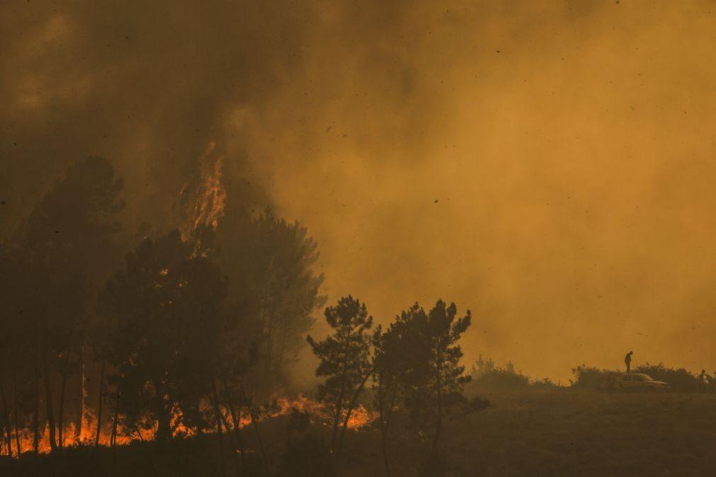 Incêndios: Seis fogos ativos mobilizam 1.177 operacionais e 377 viaturas