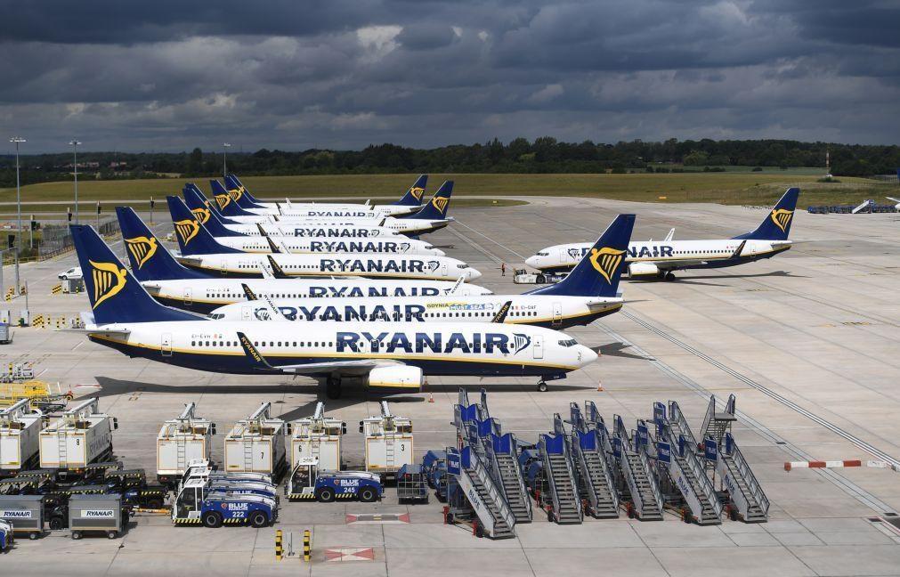 Covid-19: Ryanair perde 185 ME no primeiro trimestre fiscal