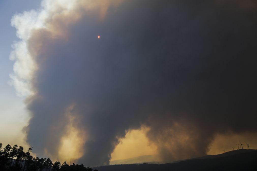 Incêndios: Primeiro balanço aponta para seis mil hectares ardidos no fogo de Oleiros