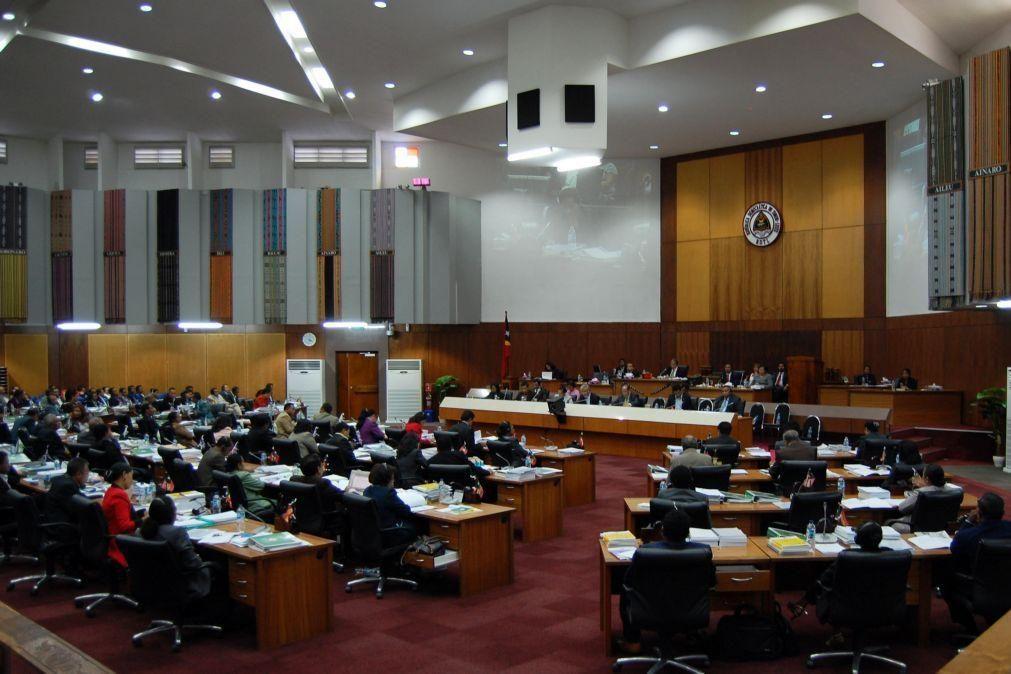 Parlamento timorense aprova orçamento próprio para 2020, segundo mais baixo em 10 anos