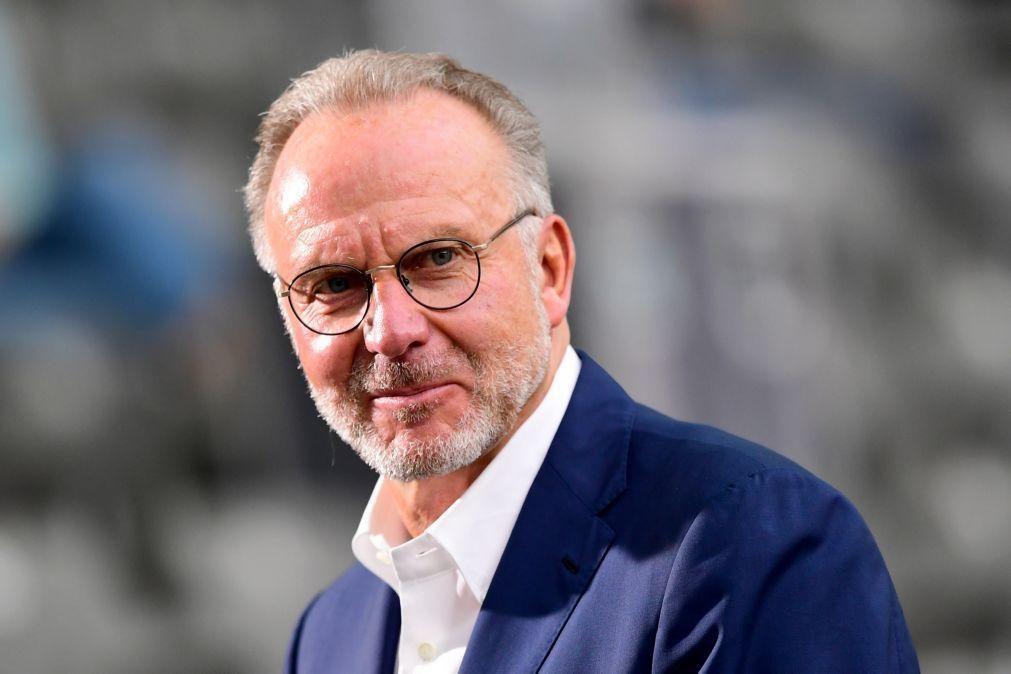 Presidente do Bayern critica UEFA pela investigação ao Manchester City