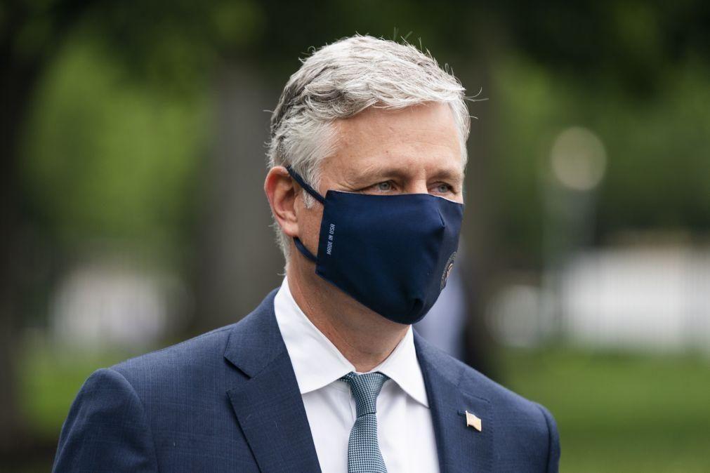 Covid-19: Conselheiro para a segurança nacional de Trump infetado