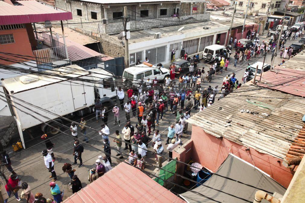 Covid-19: Angola aumenta para 950 casos, com mais 18 infetados, e mais um óbito
