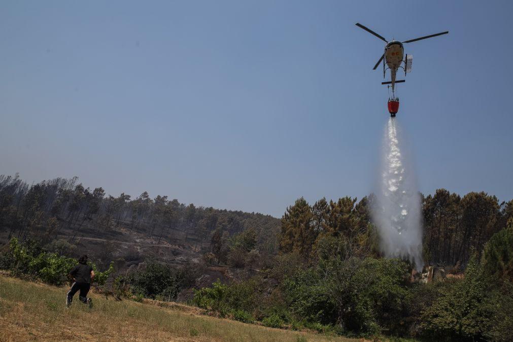 Incêndios: Fogo em Oleiros tinha potencial de atingir mais de 20 mil hectares - Governo