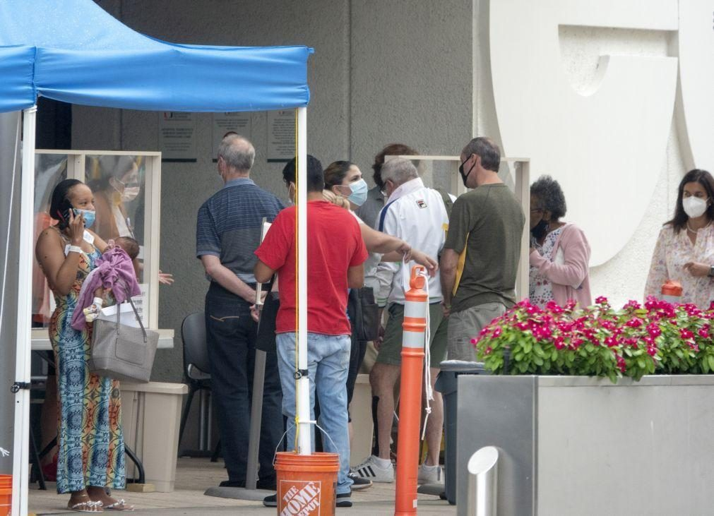 Covid-19: EUA registam 679 mortos e mais de 57 mil infetados nas últimas 24 horas