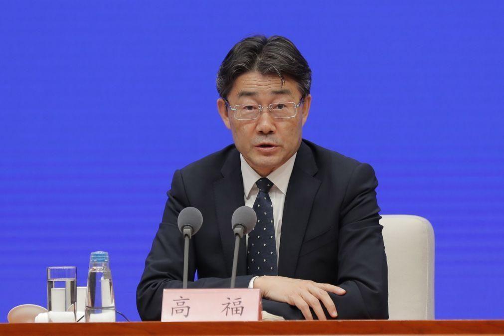Covid-19: Chefe do Centro Chinês de Controlo e Prevenção de Doenças experimentou vacina