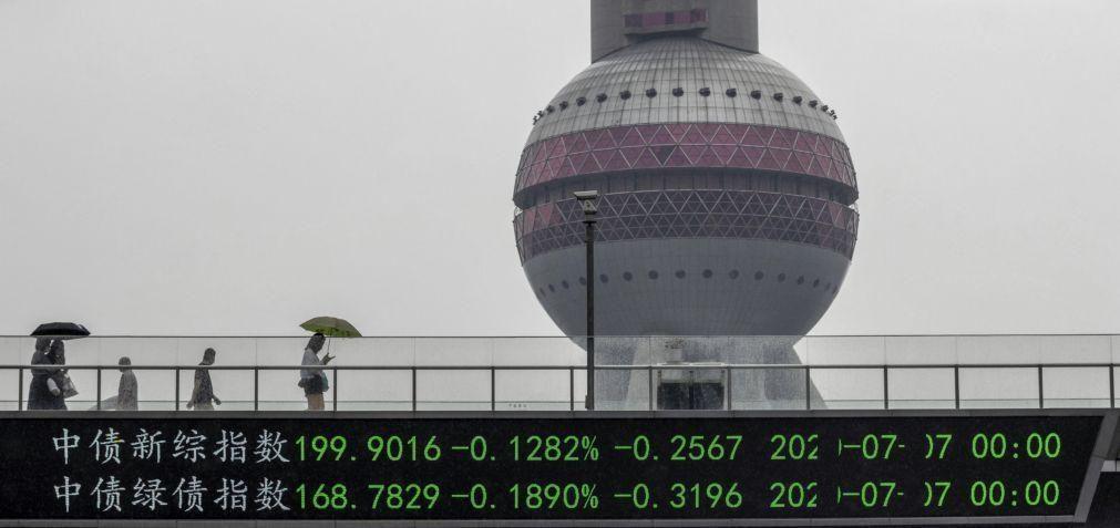 Bolsa de Xangai encerra a subir 0,71%