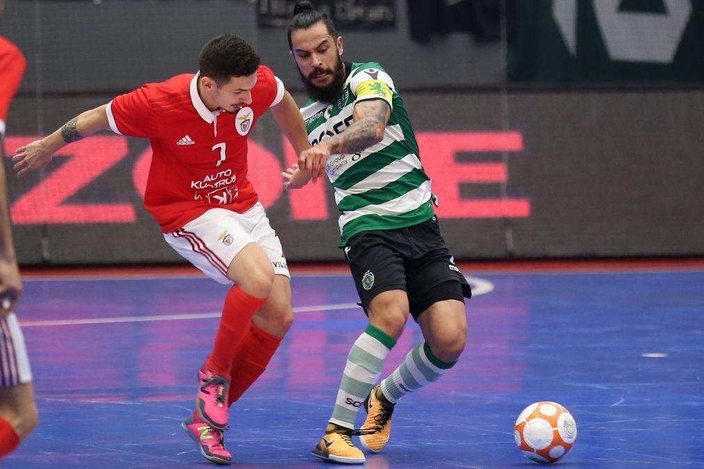 Ala internacional Tiago Brito renova com o futsal do Benfica