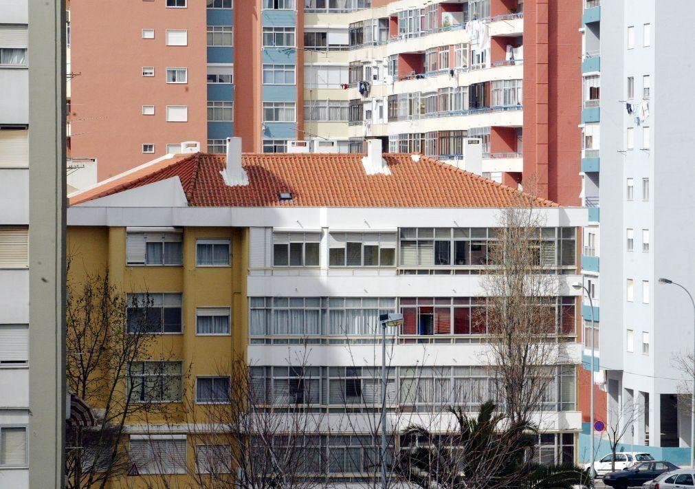 Avaliação bancária das casas sobe em junho para novo recorde de 1.115 euros/m2