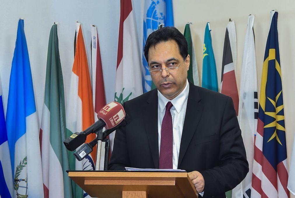 Primeiro-ministro libanês denuncia