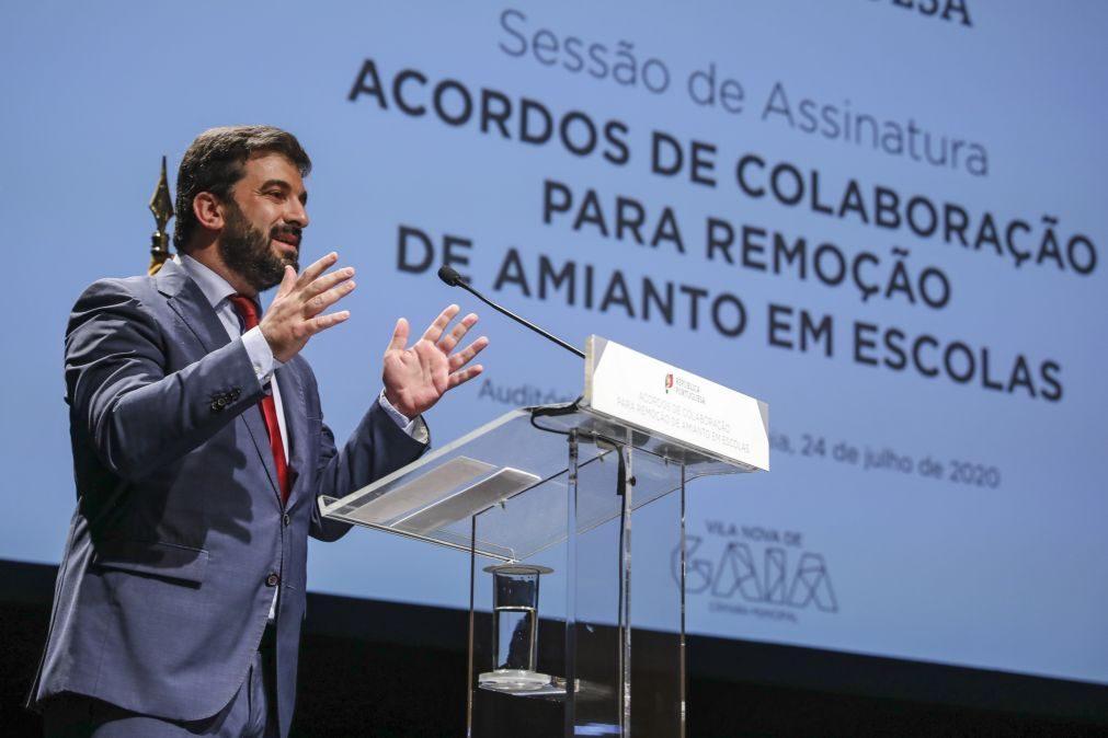 Amianto será removido em mais de 250 escolas de Lisboa, Alentejo e Algarve