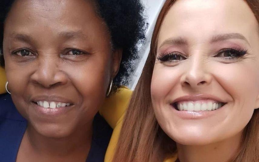 Cristina Ferreira reencontra-se com «Tia»