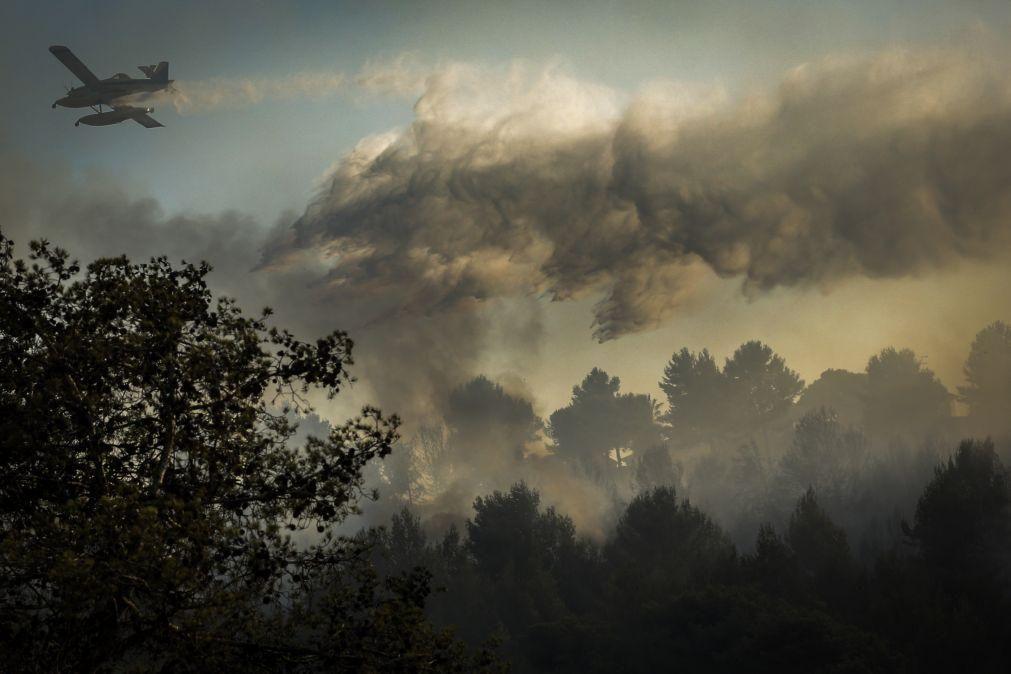 Incêndios: Risco máximo em cerca de 40 concelhos do interior Norte, Centro e Algarve