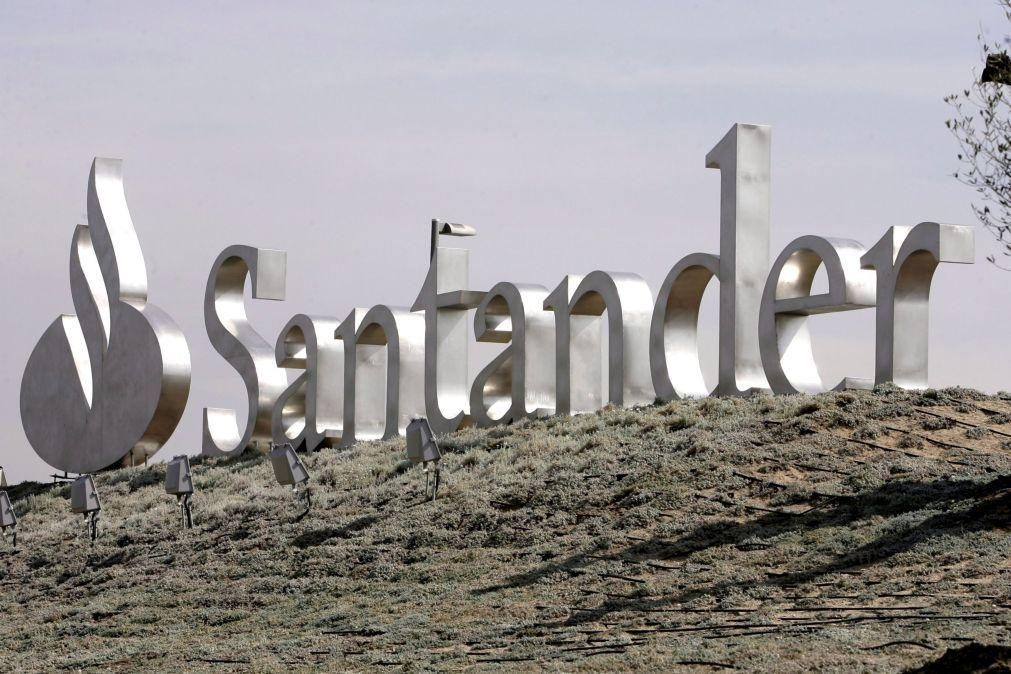 Santander perde mais de 10 mil milhões no 1.º semestre ao ajustar valor das filiais