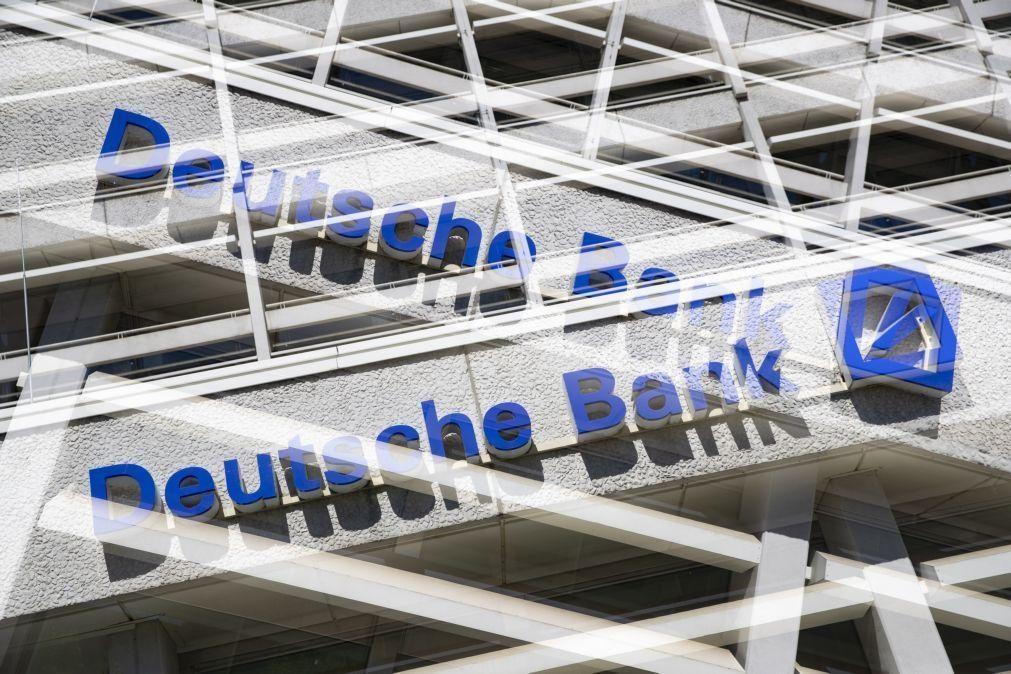 Deutsche Bank perde 120 milhões de euros no primeiro semestre