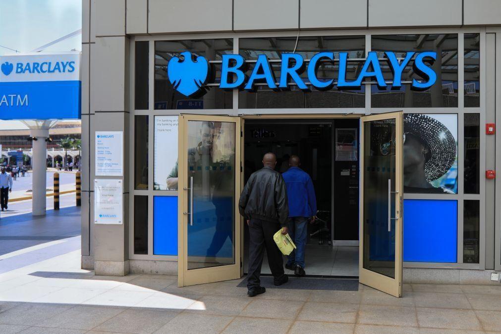 Barclays ganhou menos 12% no 1.º semestre do ano