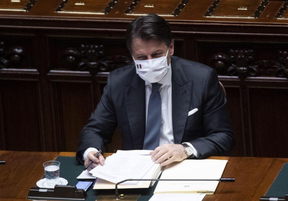 Governo italiano quer prolongar estado de emergência até 15 de outubro