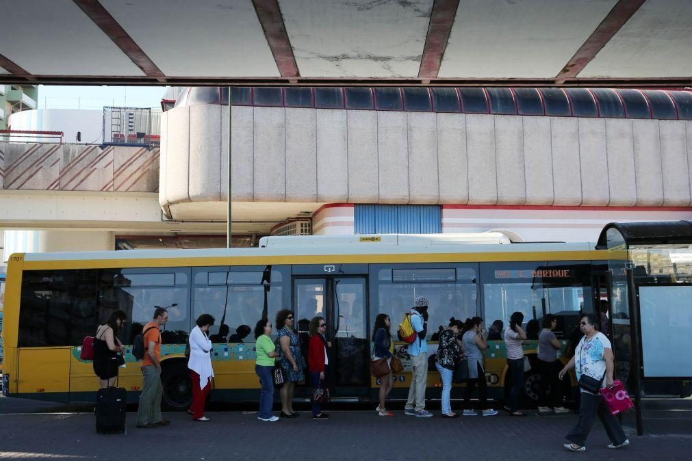 Covid-19: Oferta de transportes na AMLisboa reposta a 100% em setembro