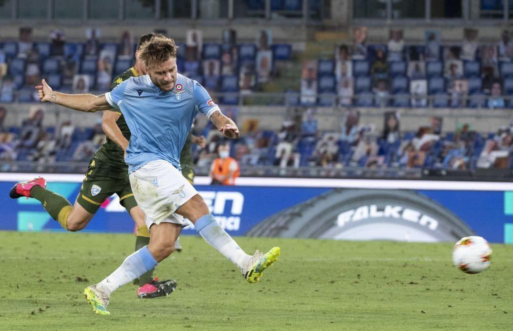 Lazio vence despromovido Brescia e Rafael Leão fecha triunfo do AC Milan