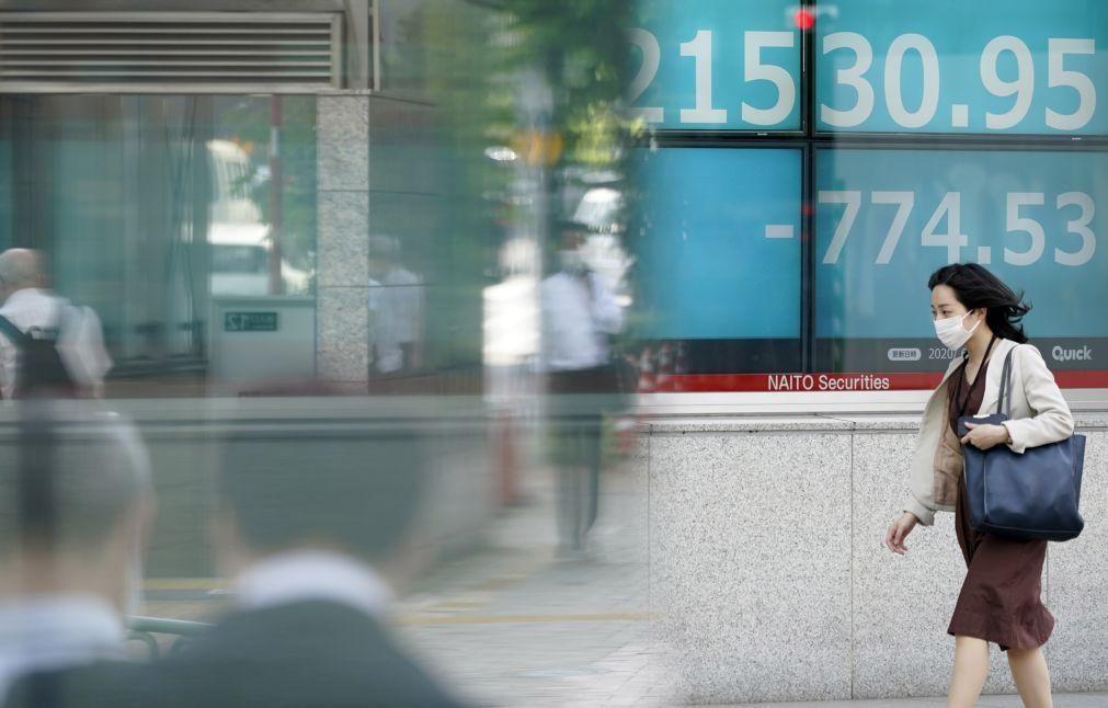 Bolsa de Tóquio fecha a perder 0,26%