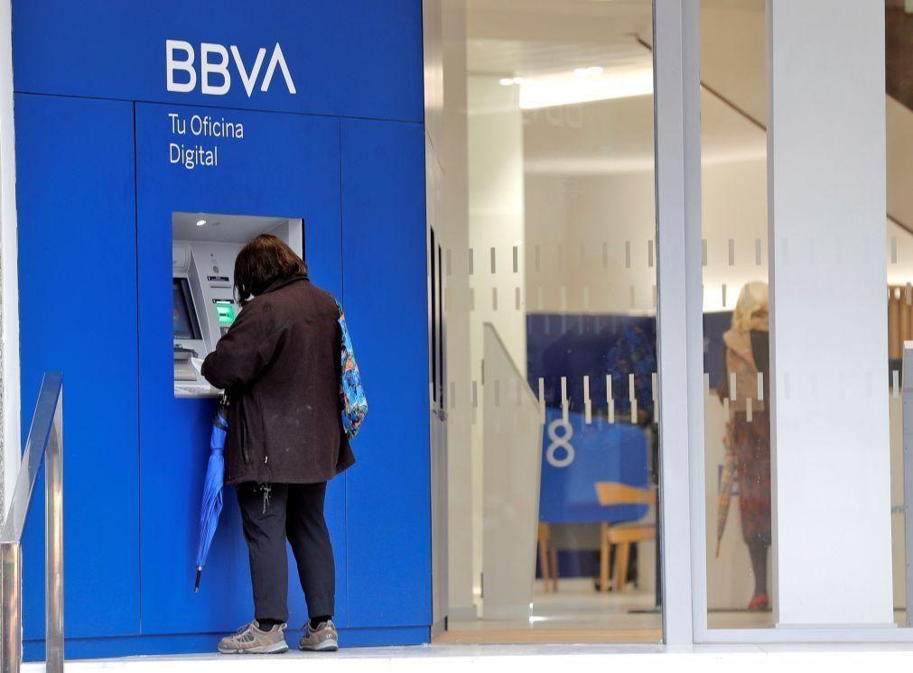 BBVA perde 1.157 ME no 1º. semestre após operação de ajustamento nos EUA