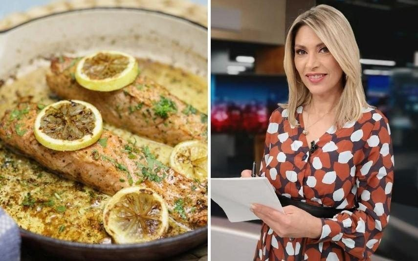 Clara De Sousa Este Salmão com Manteiga Dourada de Limão fica pronto em 10 minutos!