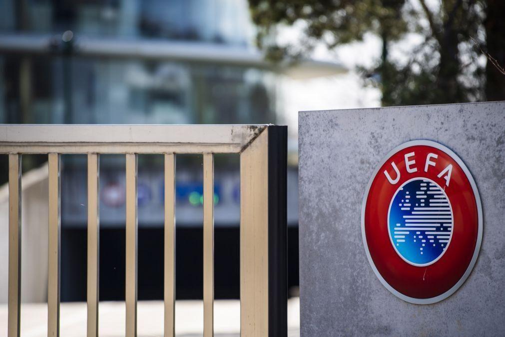 Covid-19: UEFA confiante apesar de casos positivos no Real e Sevilha