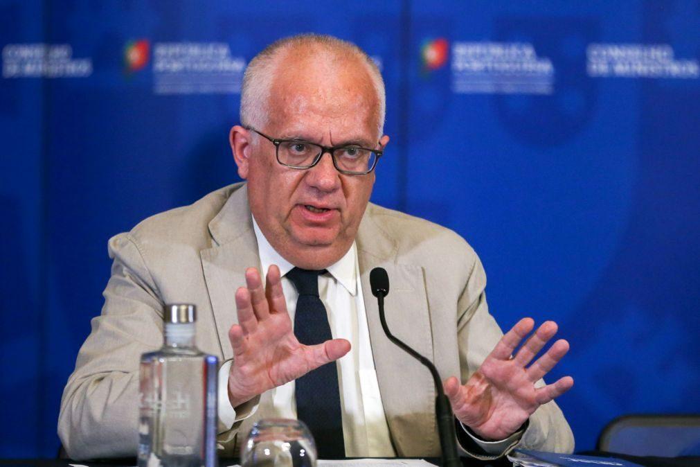 Ministro Eduardo Cabrita manifesta