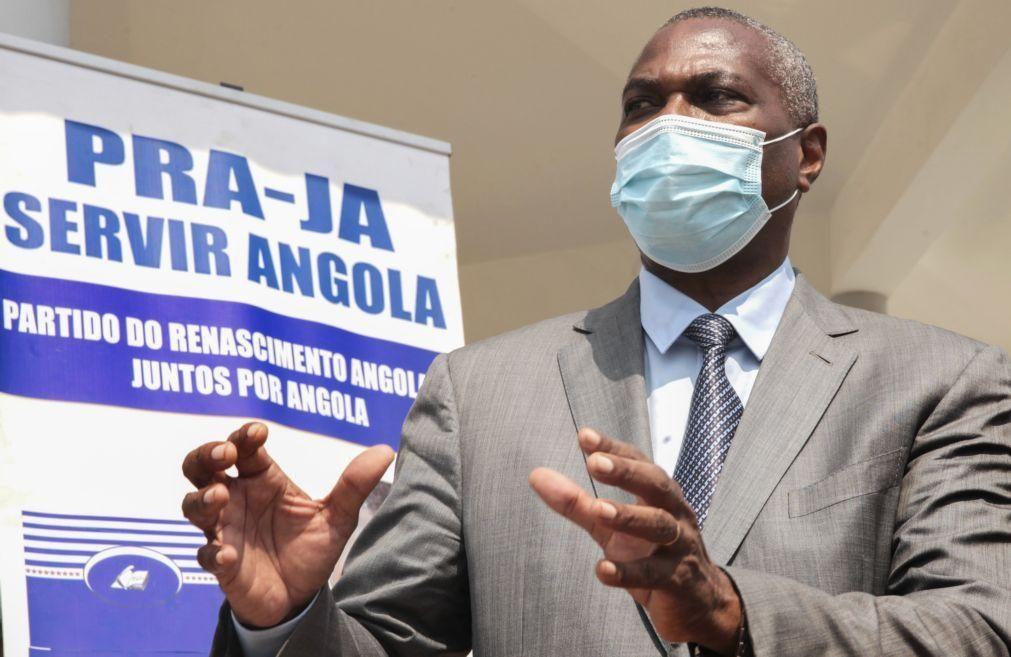 Chivukuvuku promete insistir na legalização do PRA-JA Servir Angola