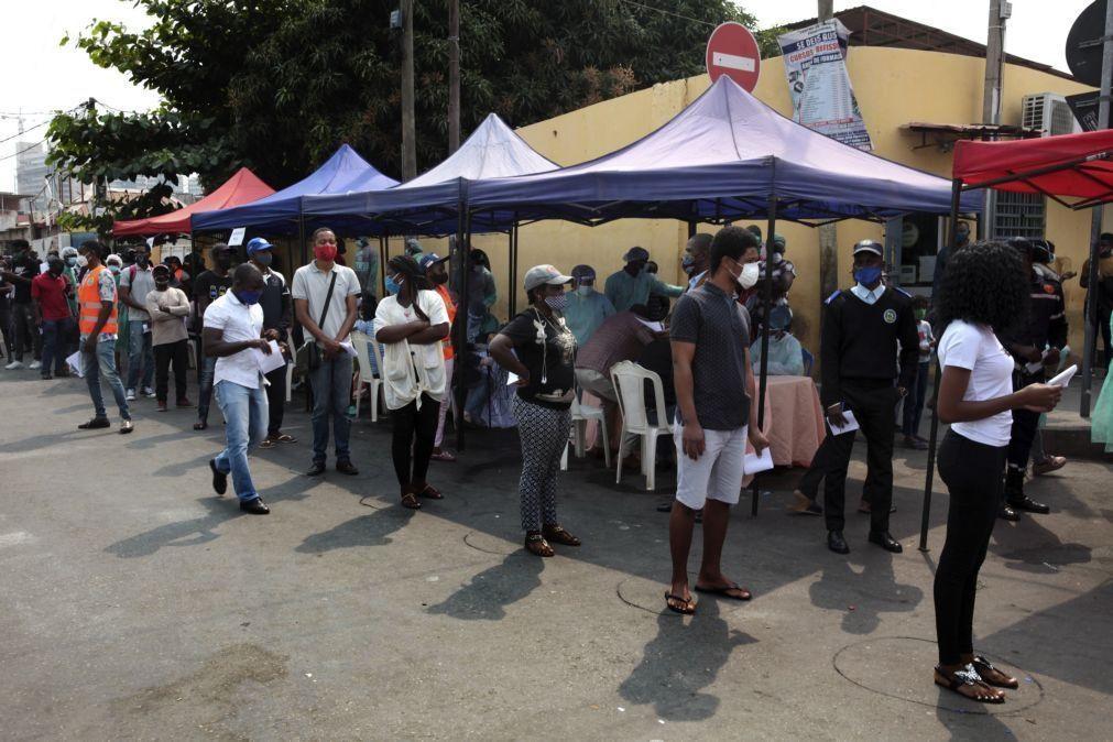 Covid-19: Angola regista mais três mortes e 31 novos casos