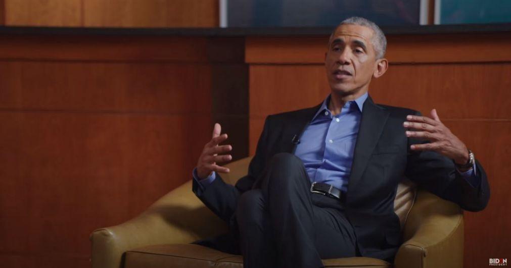 EUA/Eleições: Obama critica Trump por enviar agentes federais para manifestações pacíficas