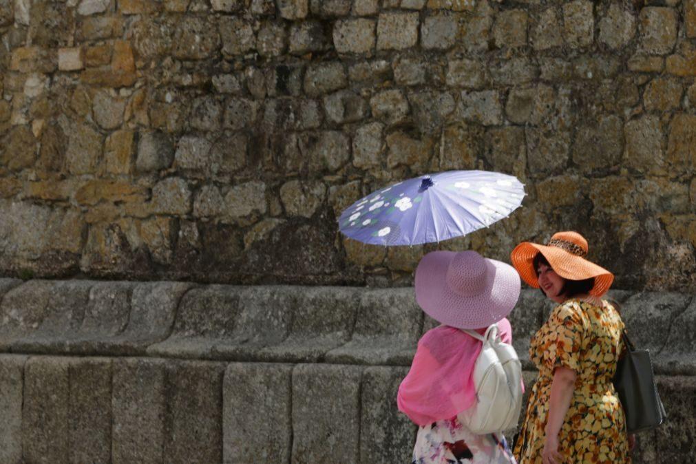 Bragança, Évora e Portalegre sob aviso amarelo por causa do calor