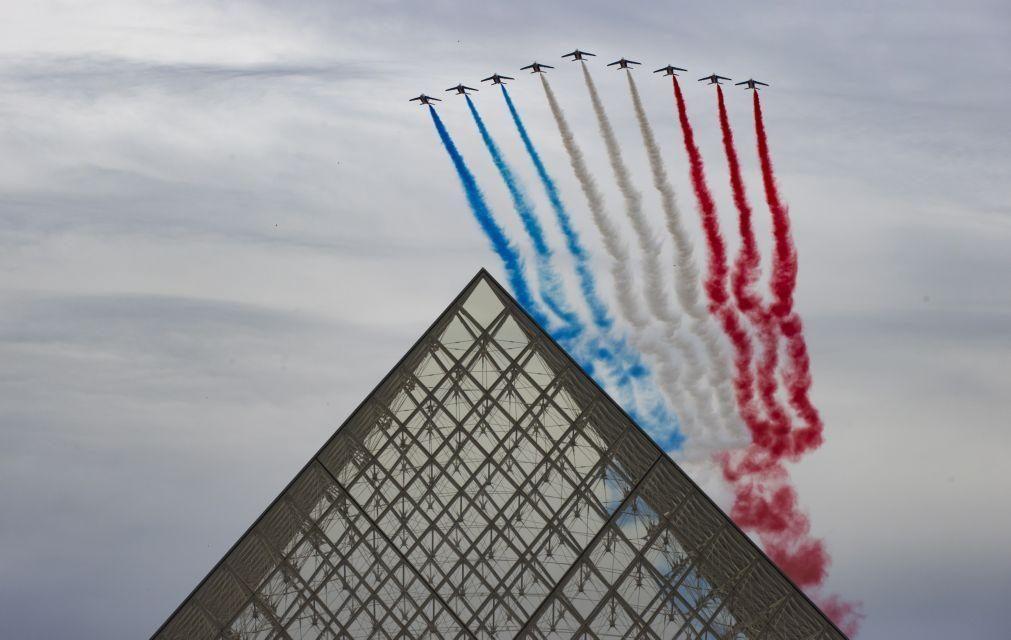 Covid-19: França com queda histórica no PIB de 13,8%