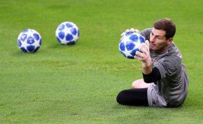 Real Madrid diz que Casillas é o melhor guarda-redes da história do clube