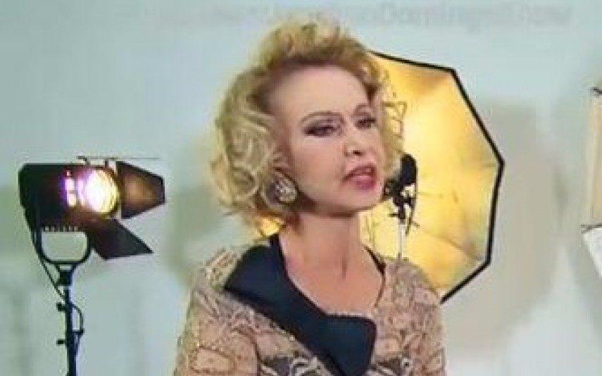 Marta Anders Atriz com cancro na cara comove a Internet