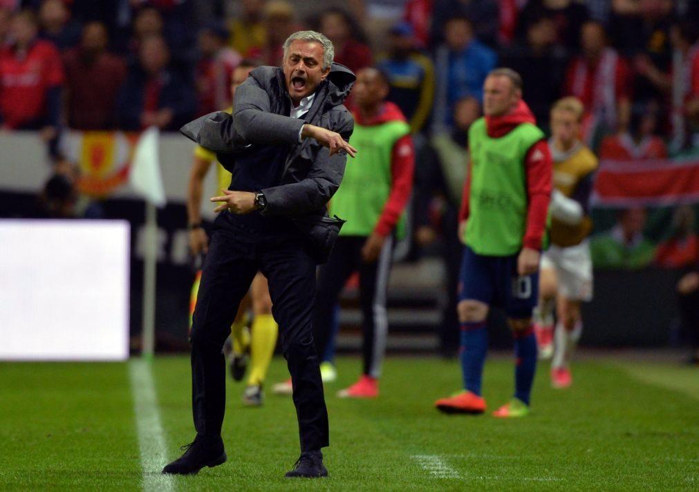 Manchester ganha Liga Europa: Mourinho vence quarta final europeia da carreira
