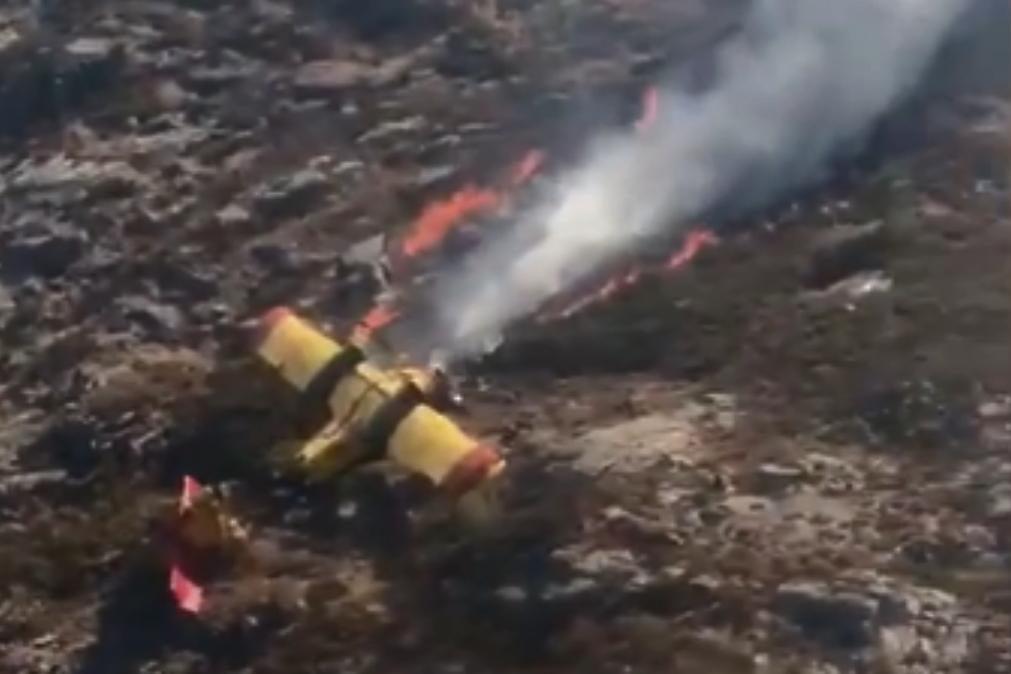 Morreu um dos pilotos do Canadair que caiu no Gerês [vídeo]