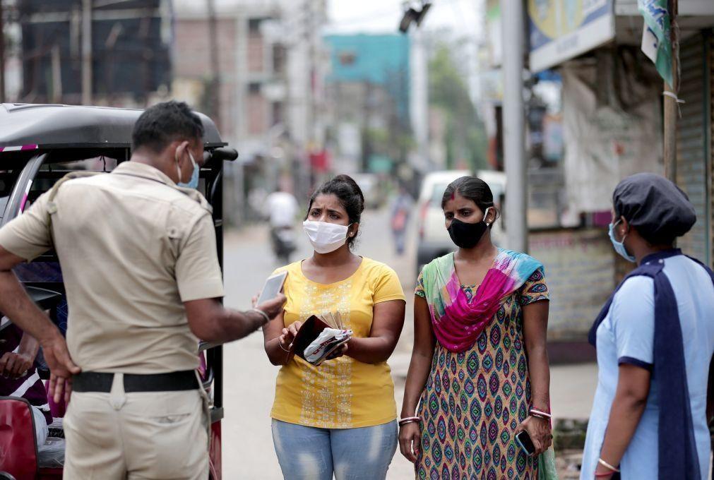 Covid-19: Índia regista 861 mortes e quase 64.000 casos em 24 horas