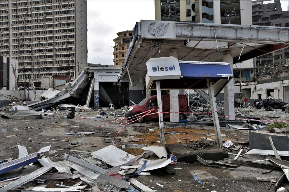Beirute/Explosões: Carga tinha como destino Moçambique e foi substituída por outra encomenda