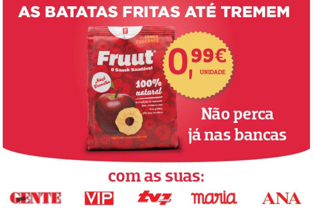 Fruut - o snack mais saudável!