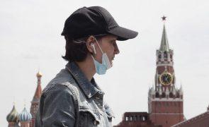 Covid-19: Rússia ultrapassa 900 mil infetados