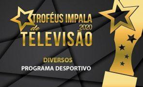 Troféus Impala de Televisão 2020. Eis os nomeados na categoria de Melhor Programa Desportivo
