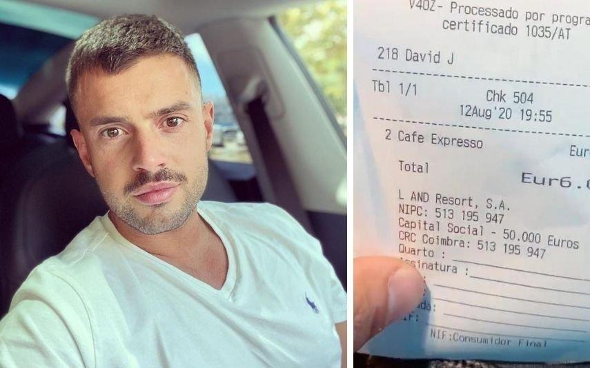 Marco Costa revoltado por pagar 6 euros por dois cafés